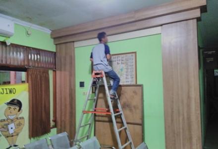 Rehabilitasi Bangunan  Kantor Desa