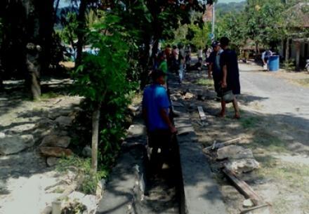 Pembangunan Drainase Gendeng RT 3 + 6