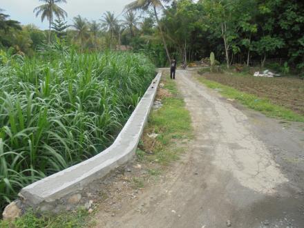 Pembangunan Talud Dana BKK 2018