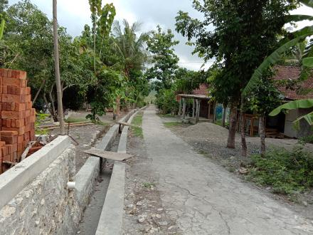 Pembangunan Saluran Drainase Anggaran BKK 2018