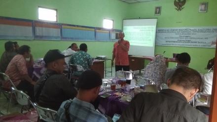 Bimbingan Teknis Bagi PKL di Desa Bangunjiwo