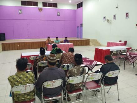 Rakor Pengurus LPMD Desa Bangunjiwo