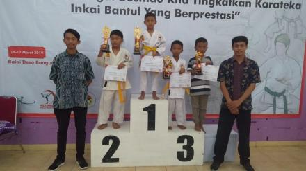 INKAI Bantul adakan Kejurkab Karate di Bangunjiwo