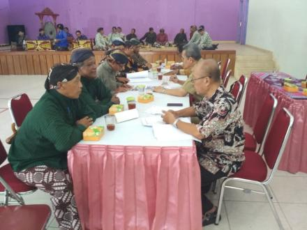 Desa Budaya Bangunjiwo dimonitoring oleh Tim Evaluasi Desa Budaya DIY
