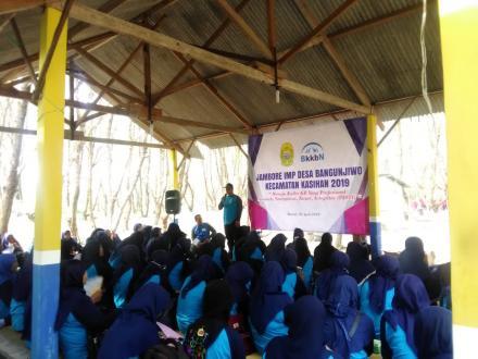 Pemerintah Desa Bangunjiwo selenggarakan Jambore Kader IMP Desa di Pantai Gua Cemara