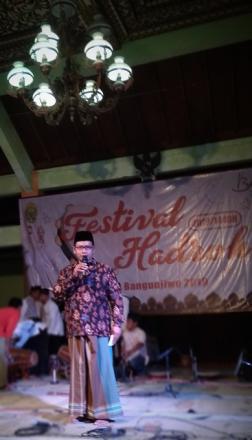 Pentupan Festival Hadroh Desa Bangunjiwo Tahun 2019