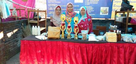 Stand Bangunjiwo raih prestasi dalam Pameran Olahan Pangan Lokal BPP Kismo Raharjo