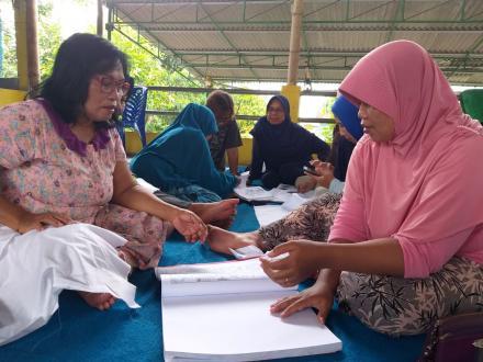 Dosen ISI Yogyakata dampingi Kelompok Pengrajin Batik Guyup Rukun Pedukuhan Gendeng
