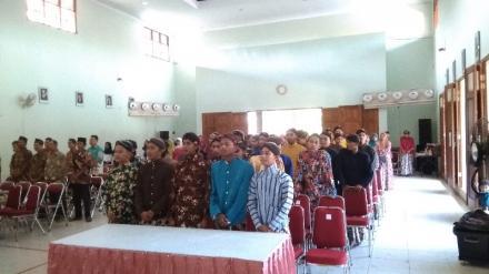 LULUS 100% Kelas XII Angkatan IV SMK Muhammadiyah Bangunjiwo