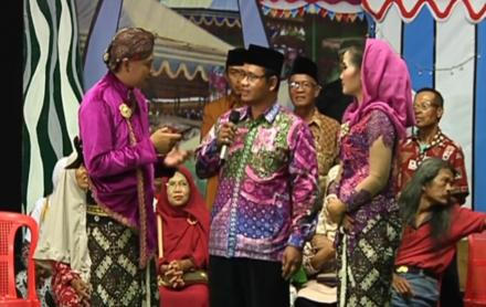 Grup Hadroh Zahrotul Qolbi Lemahbang meriahkan acara Kangen Tembang Tembung AdiTV