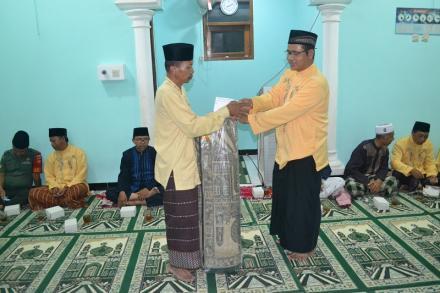 Masjid Asy-Syifa Sambikerep menjadi lokasi safari tarawih Pemerintah Desa Bangunjiwo putaran kedua