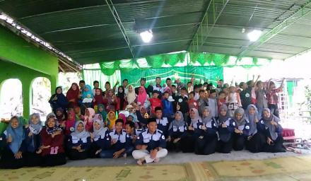 Kemeriahan FAS Bangunjiwo Barat di Kampung Ramadhan Salakan