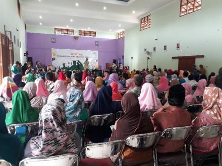 120 Siswa SMPN 3 Kasihan diwisuda di Gedung Serbaguna Desa Bangunjiwo