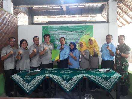 Pemdes Desa Bangunjiwo teken MOU Desa Sadar Jaminan Sosial Tenaga Kerja dengan BPJS Ketenagakerjaan