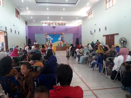 Kemeriahan Wisuda dan Pelepasan Siswa - Siswi TK Pertiwi 20 di Desa Bangunjiwo