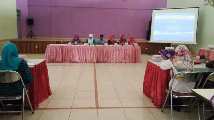 Pertemuan TPPKK Kecamatan Kasihan di Desa Bangunjiwo