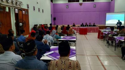 BPD Desa Bangunjiwo gelar Musyawarah Desa Penyusunan RKPDesa Tahun 2020