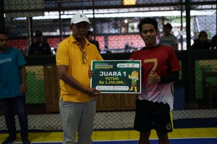 Gedongan Raih Juara 1 Cabor Futsal