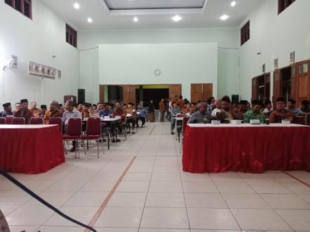 146 Ketua RT Se Desa Bangunjiwo ikuti Peningkatan Kapasitas Ketua RT Desa Bangunjiwo Tahun 2019