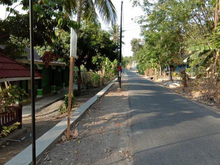 Pembangunan Talud Jalan Jipangan RT 01