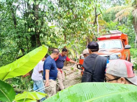 Personil FPRB SIGAP laksanakan Animal Rescue di Jagan RT 03