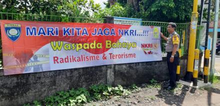 Lurah, Babinsa dan Babhinkamtibmas merupakan ujung tombak dalam pencegahan radikalisme dan terorisme