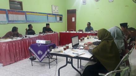 Rapat Koordinasi Pemilihan Lurah Desa Bangunjiwo tahun 2020
