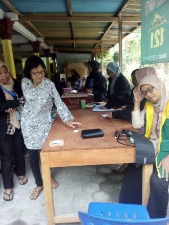 Pemeriksaan dan Pengobatan Gratis Rumah Baznas Yogyakarta di Salakan