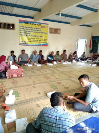 Sosialisasi Padat Karya Infrastruktur di Lemahdadi RT 06