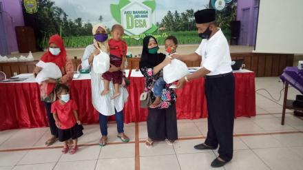BKAD Kecamatan Kasihan salurkan 86 paket bantuan sosial bagi warga miskin di Bangunjiwo