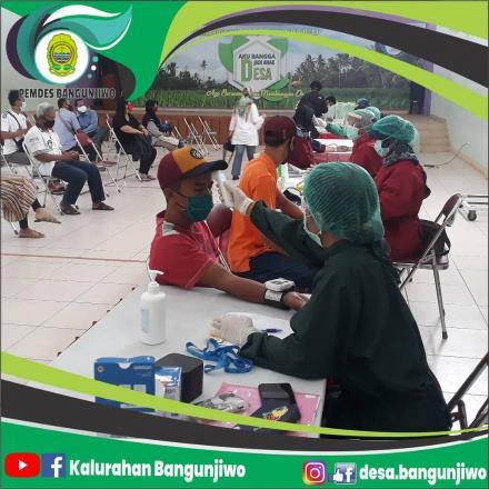 Puskesmas Kasihan I cek kesehatan calon KPPS Pilkada Tahun 2020 di Desa Bangunjiwo