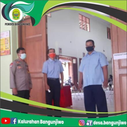 Penyaluran Bansos APBD Kabupaten Bantul Tahap 6 di Desa Bangunjiwo berjalan dengan lancar
