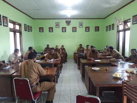 Rapat Koordinasi Pemerintahan Desa Bangunjiwo