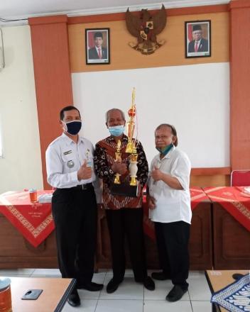 Kalurahan Bangunjiwo meraih Juara II Lomba TTG Kabupaten Bantul Th 2020