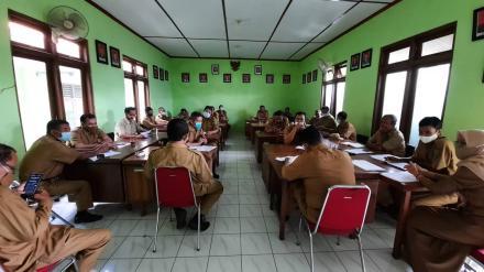 Rapat Koordinasi Pamong Kalurahan Bangunjiwo