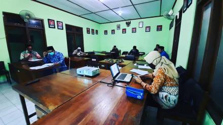 Rapat Koordinasi Persiapan Penyusunan RPJMKal Bangunjiwo