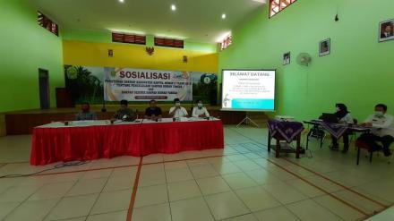 Sosialisasi Perda Nomor 2 Tahun 2019 Kabupaten Bantul  ttg Pengelolaan Sampah Rumah Tangga