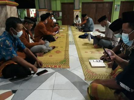Rapat Koordinasi FKRT Kalurahan Bangunjiwo