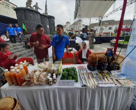 Pameran Kerajinan dan Kuliner Desa Budaya