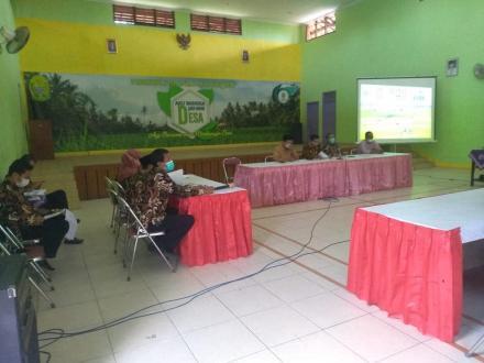 Musyawarah Kalurahan membahas Rencana Kegiatan Pemerintah Kalurahan TA 2022