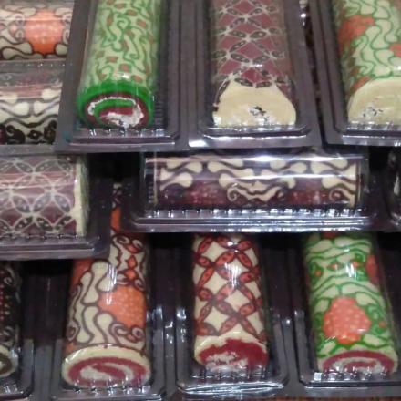 Brownies Batik